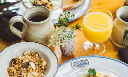 Breakfast by Albergo | AlbergoAllegriaHotel | Windham New York