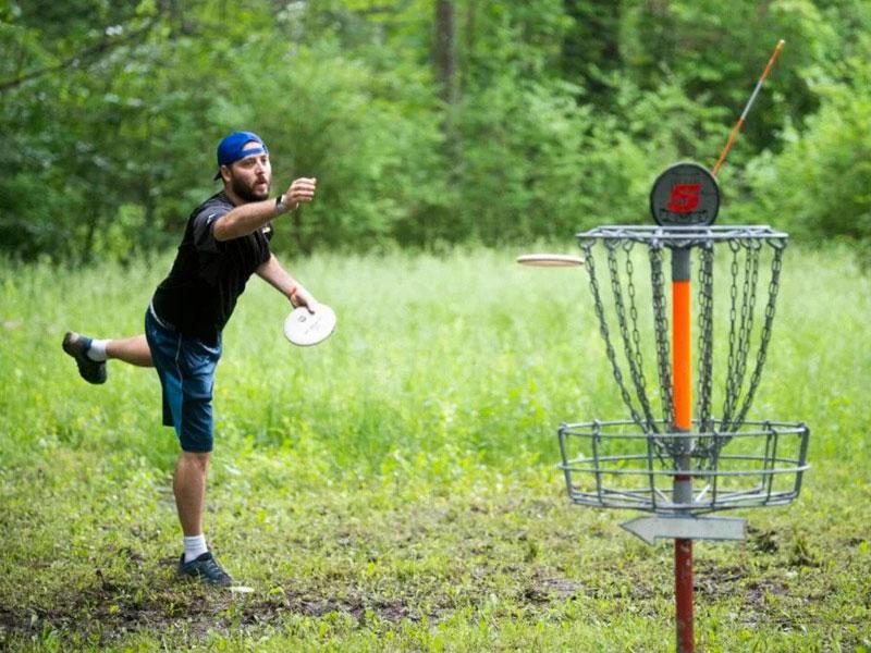 Disc-Golf | AlbergoAllegria Bed & Breakfast | Catskills, NY