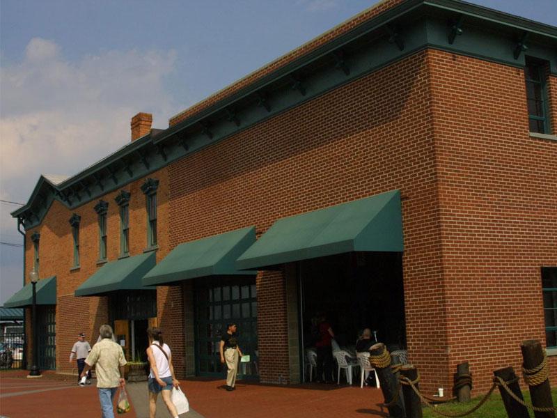 Freightmasters-Building-Maritime-Museum | AlbergoAllegria Bed & Breakfast | Catskills, NY