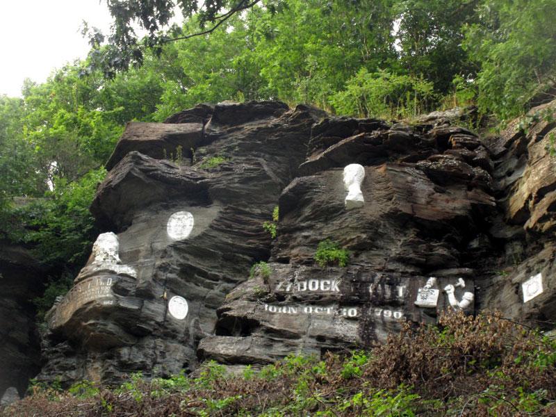 Pratt-Rock | AlbergoAllegria Bed & Breakfast | Catskills, NY