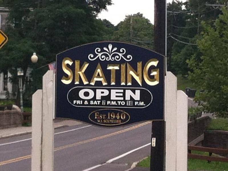 Purling-Roller-Rink | AlbergoAllegria Bed & Breakfast | Catskills, NY