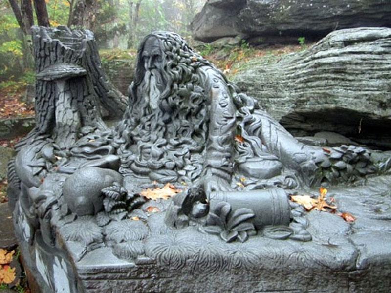 Rip-Van-Winkle-Monument | AlbergoAllegria Bed & Breakfast | Catskills, NY