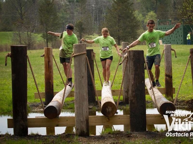 Viking-Obstacle-Course | AlbergoAllegria Bed & Breakfast | Catskills, NY