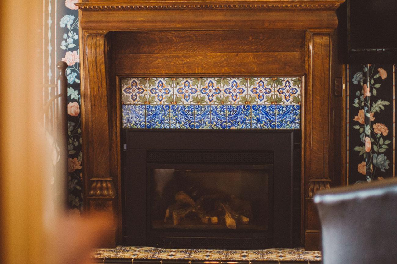 Fireplace Room 3 | AlbergoAllegriaHotelandbreakfastrestaurant | Windham NY