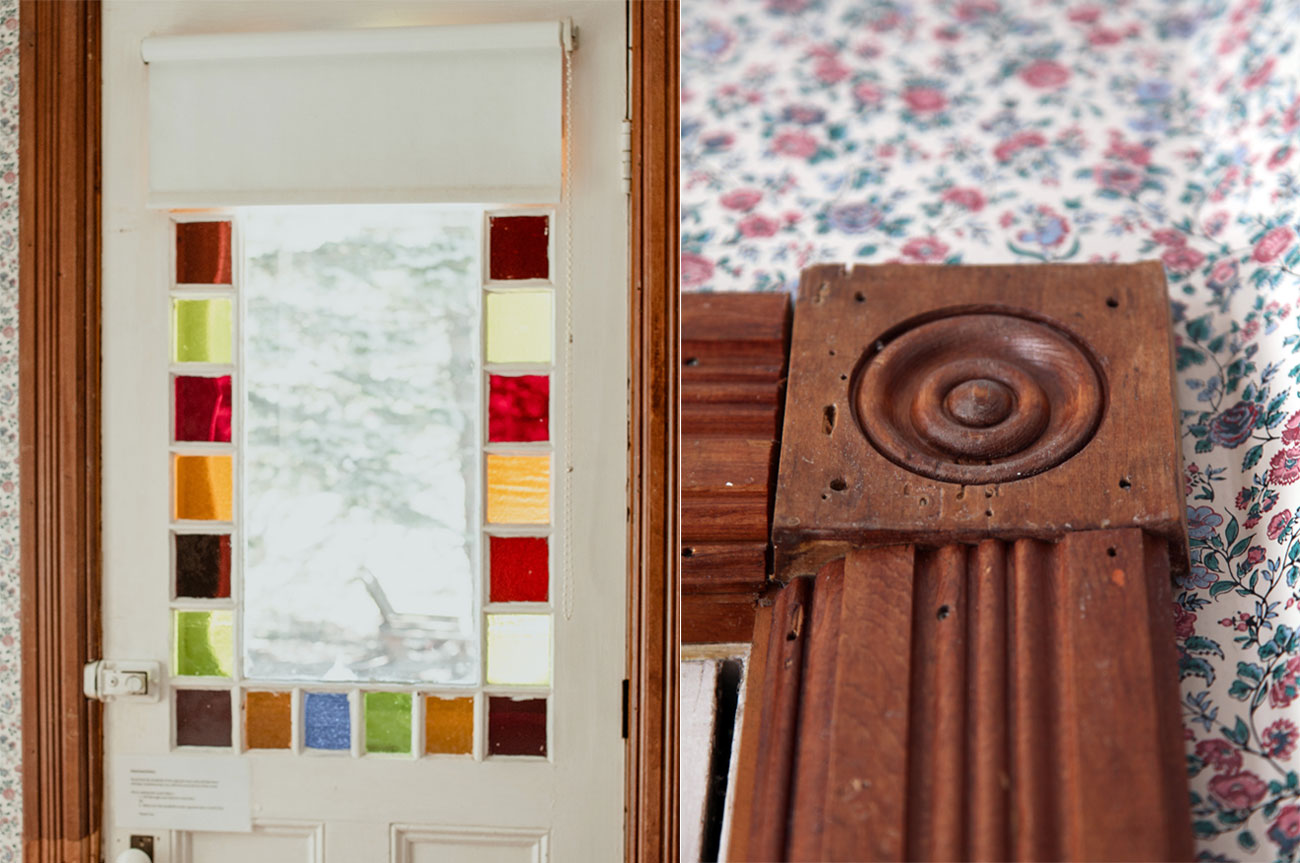 Collage Door and Chair Room 1 | AlbergoAllegriaHotelandbreakfastrestaurant | Windham NY