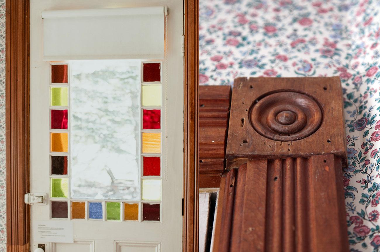 Collage Door and Chair Room 1 | AlbergoAllegriaHotelandbreakfastrestaurant | Windham NY
