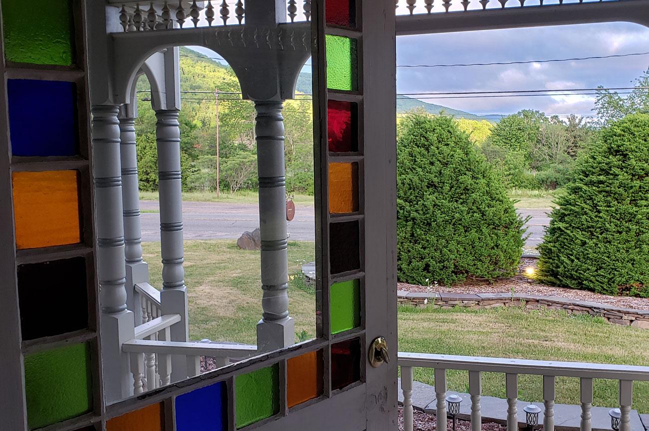 Outdoor View Room 13 | AlbergoAllegriaHotelandbreakfastrestaurant | Windham NY