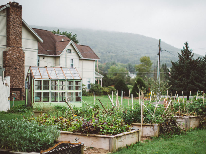 Seed to plate | AlbergoAllegria breakfast restaurant | Catskills, New York