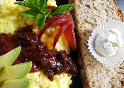 Breakfast-by-Albergo-9-img | AlbergoAllegria breakfast restaurant | Catskills, New York