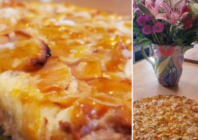 albergoathome-pie-with-vase-img | AlbergoAllegria breakfast restaurant | Catskills, New York
