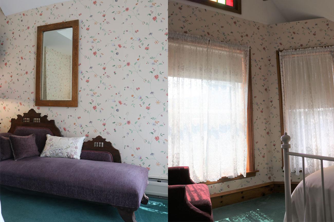Collage Chair and Window Room 8 | AlbergoAllegriaHotelandbreakfastrestaurant | Windham NY