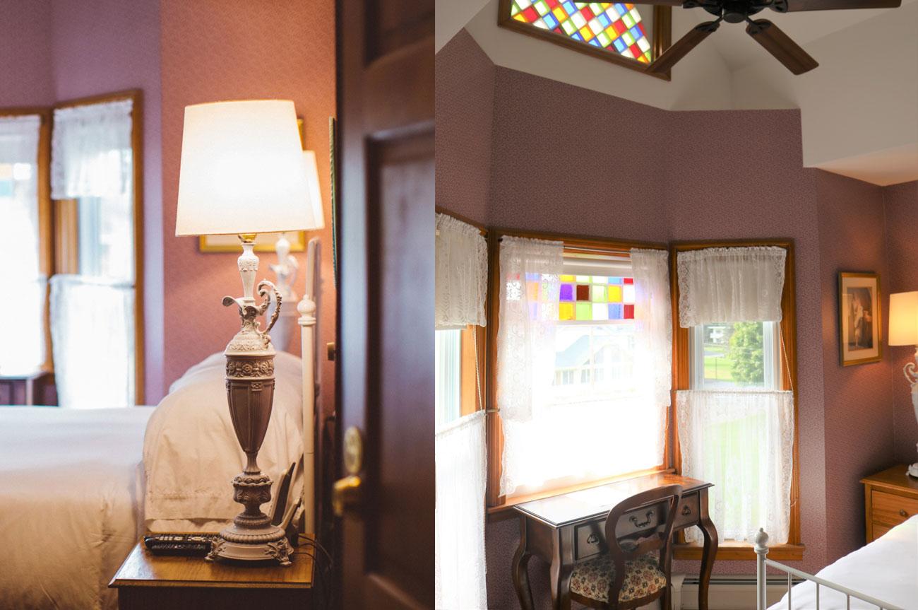 Collage Entrance Full View Light Room 7 | AlbergoAllegriaHotelandbreakfastrestaurant | Windham NY