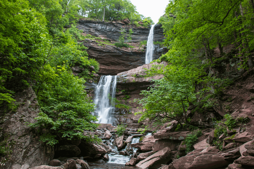 Kaaterskill Falls in the Catskills